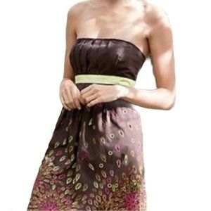 Tabitha Embroidered Honey House Strapless Dress 2